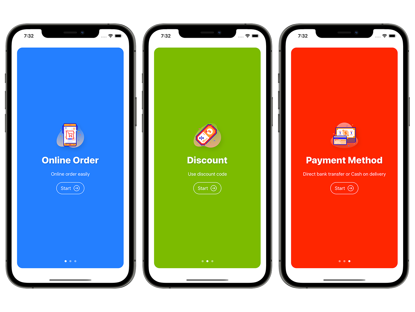 SwiftUI Grocery App | Woocommerce Full iOS Application - 1