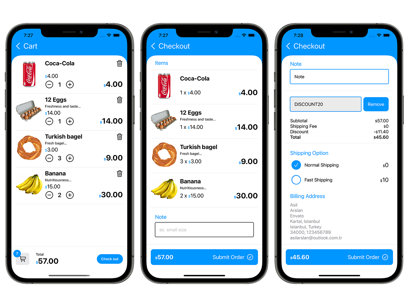 SwiftUI Grocery App | Woocommerce Full iOS Application - 6