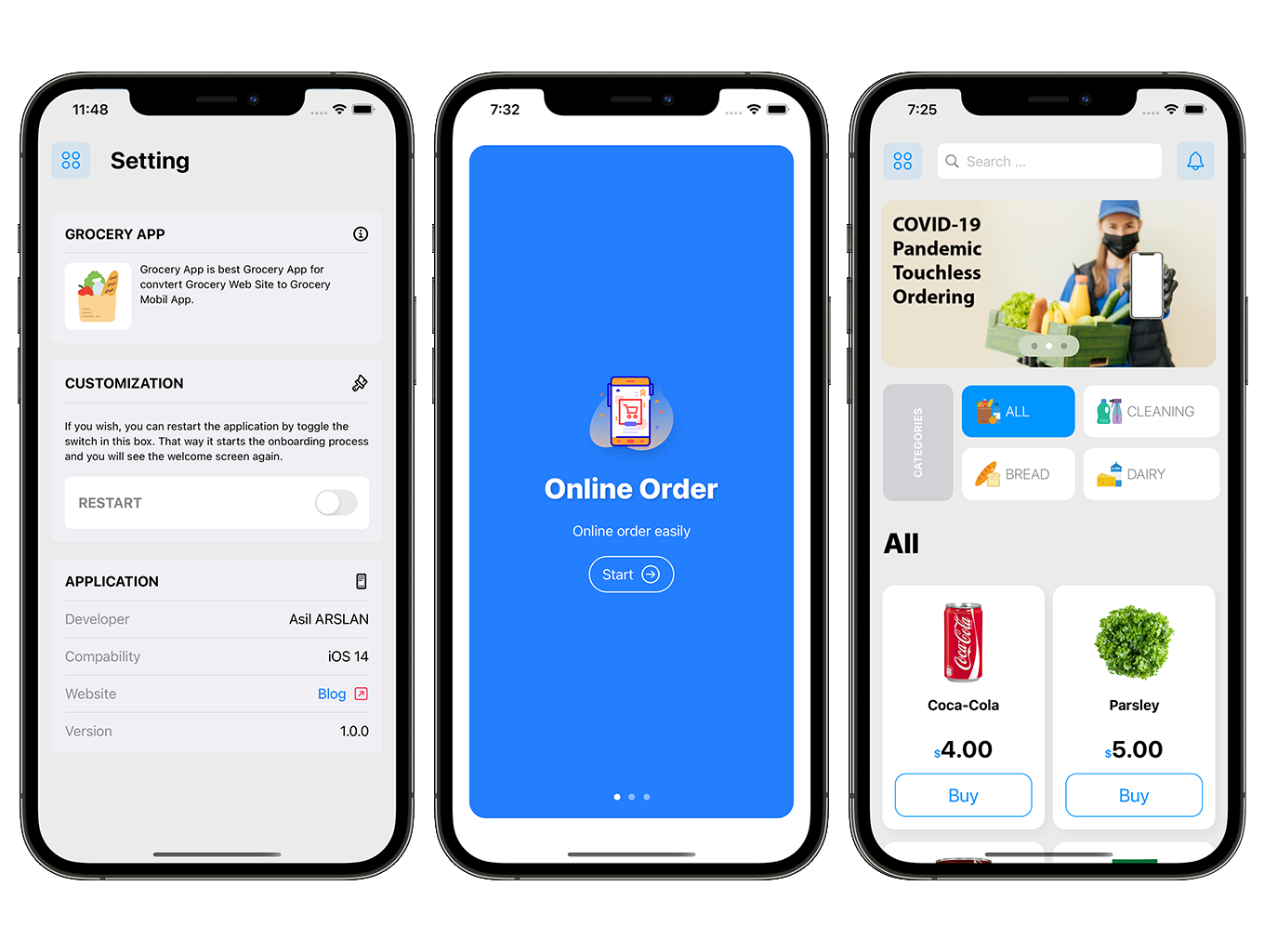 SwiftUI Grocery App | Woocommerce Full iOS Application - 9