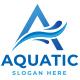 A-logo   Aquatic logo