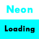 CSS3 Neon Loading Animation Effects
