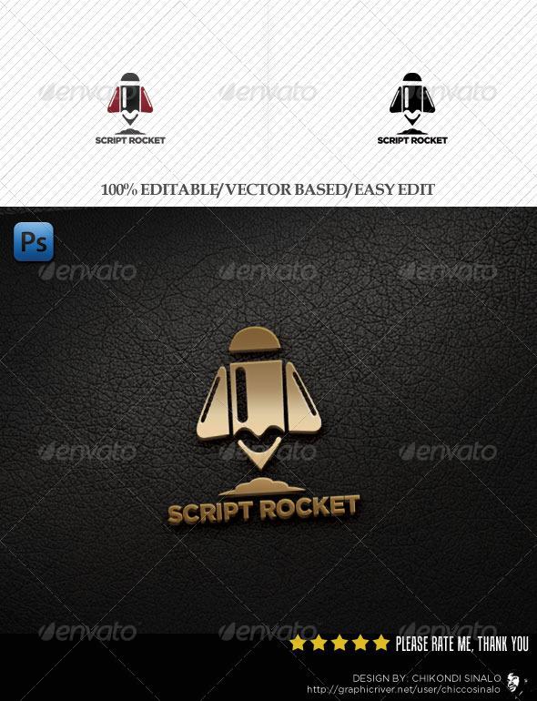Script Logo Template - Abstract Logo Templates