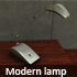 Modern lamp - 3DOcean Item for Sale