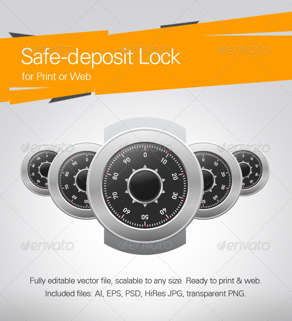 Safe-Deposit Lock - Business Backgrounds