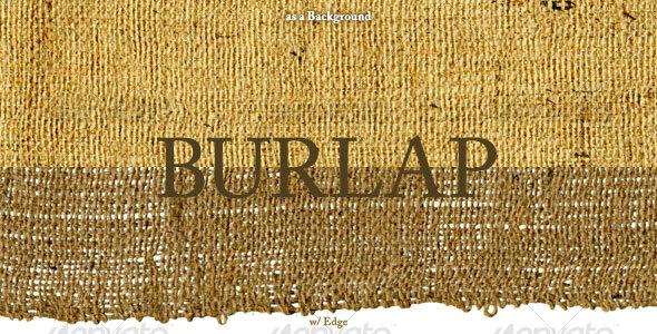 Burlap - Fabric Textures