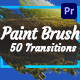 Brush Transitions - VideoHive Item for Sale