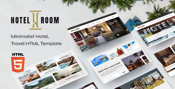 Incredible Hotel Room- Minimalist Hotel, Travel HTML Template