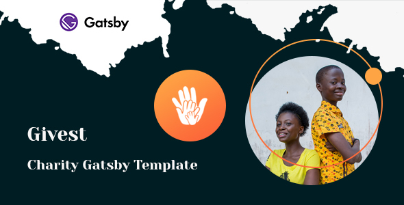 Givest - Non Profit Gatsby Template