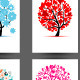 Cards With Trees Design. Season Holiday - GraphicRiver Item for Sale