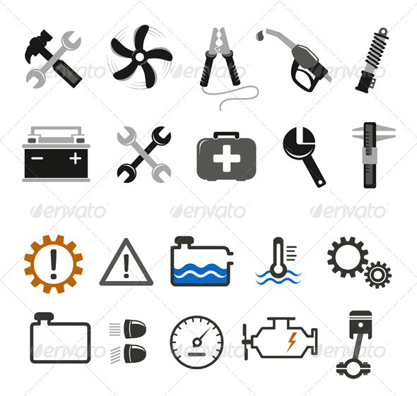 Car Mechanic And Service Tools - Industries Business