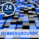 Cube 3D Backgrounds - GraphicRiver Item for Sale