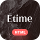 Etime - Blog & Magazine HTML5 Template