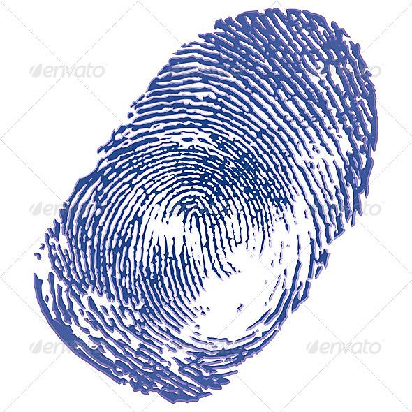 Thumbprint  - Decorative Symbols Decorative