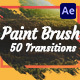 Paint Brush Transitions - VideoHive Item for Sale