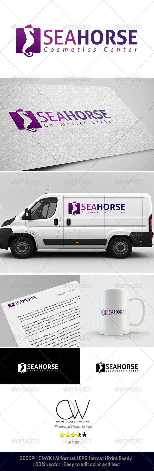 Sea Horse Logo - Animals Logo Templates
