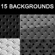 15 Web Background - carbon pattern texture - GraphicRiver Item for Sale