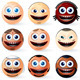 Set of International Smileys - GraphicRiver Item for Sale
