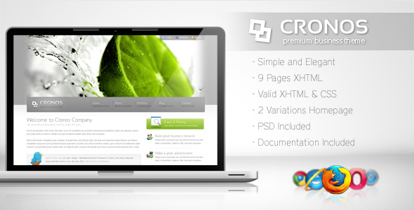 Free Download Cronos - Premium Business Template Nulled Latest Version