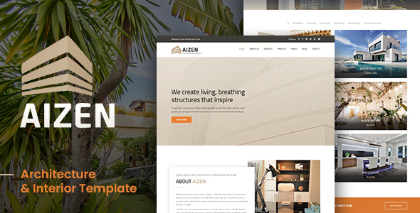 AIZEN - Architecture & Interior Template