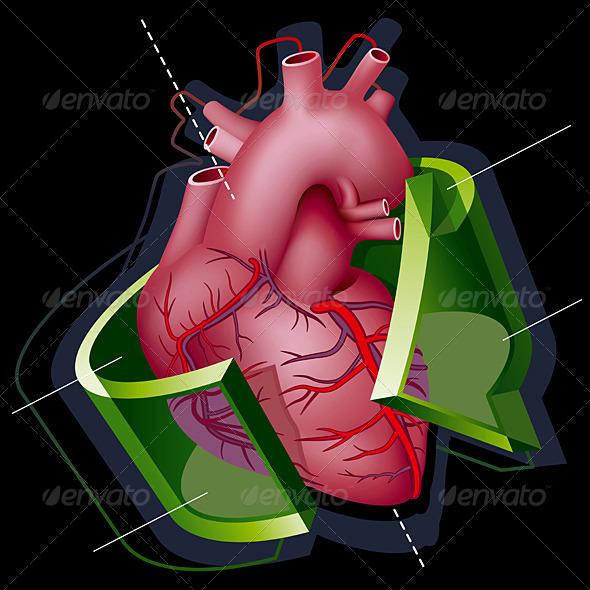 Heart - Health/Medicine Conceptual