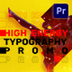Energy Typography Promo | Mogrt - VideoHive Item for Sale