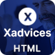 Xadvices - Finance and Consulting HTML Template