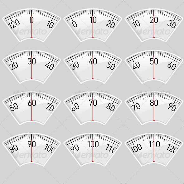 Scale - Characters Vectors