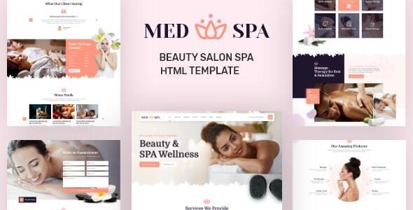 MedSpa – Beauty Salon Spa HTML Template