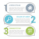 Infographic Template with Three Elements