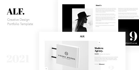 ALF. - Creative Design Portfolio Template