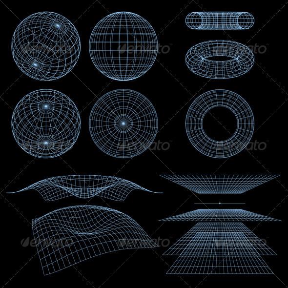 Wireframe Symbols - Decorative Symbols Decorative