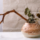 Dry flowers and twigs branch in ceramic vase - PhotoDune Item for Sale