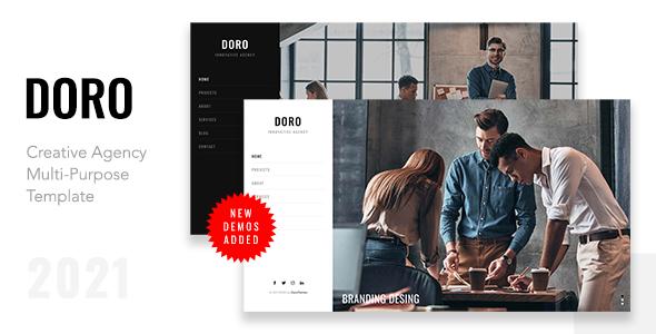Extraordinary DORO - Creative Agency Multi-Purpose Template
