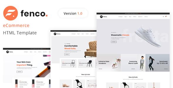 Fenco – eCommerce HTML Template