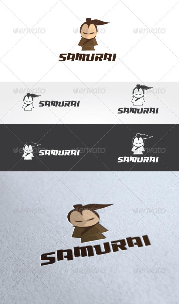 Samurai Logo Template - Humans Logo Templates