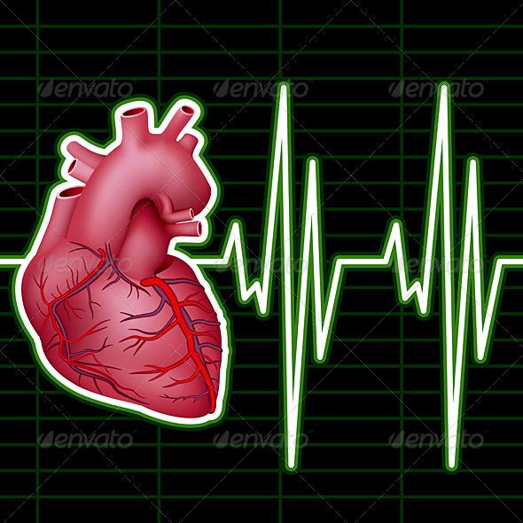 Heart Monitor - Health/Medicine Conceptual
