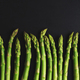 Green asparagus on dark background - PhotoDune Item for Sale