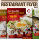 Restaurant Flyer Vol.5 - GraphicRiver Item for Sale