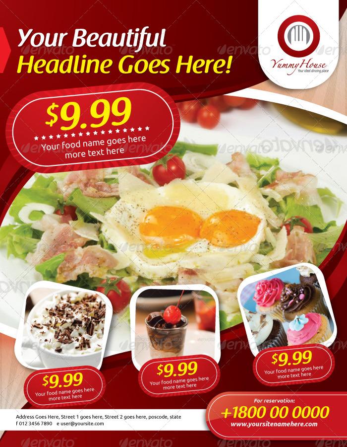 Restaurant Flyer Vol.5