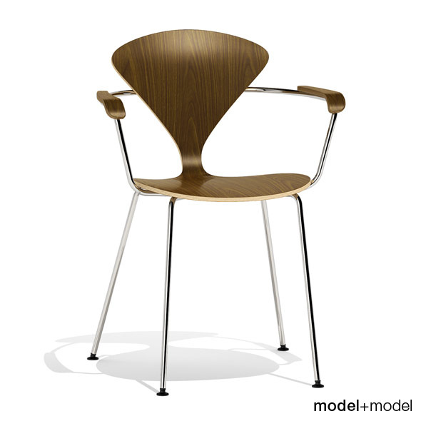 Cherner Metal base chair - 3DOcean Item for Sale