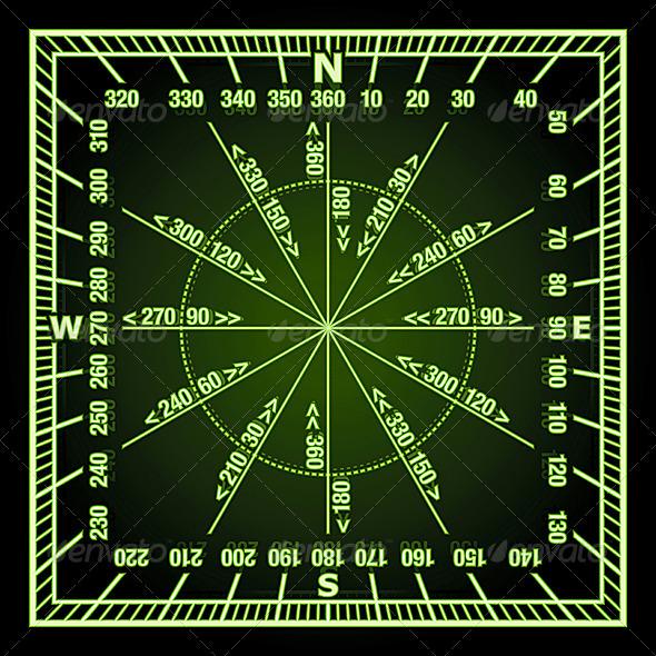 Navigation Grid - Travel Conceptual