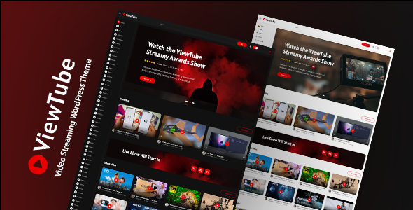 ViewTube | Video Streaming WordPress Theme