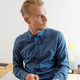 Handsome entrepreneur with digital tablet - PhotoDune Item for Sale