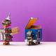 Robot received the order using an autonomous robotics parcel delivery service courier truck. - PhotoDune Item for Sale