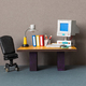 Retro style office workplace. - PhotoDune Item for Sale