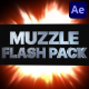 Muzzle Flash Pack 03 | After Effects - VideoHive Item for Sale