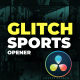 Glitch Sports Opener - VideoHive Item for Sale
