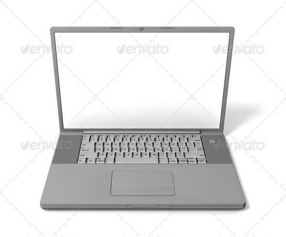 Laptop - Technology 3D Renders