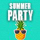 Happy Summer Party Logo