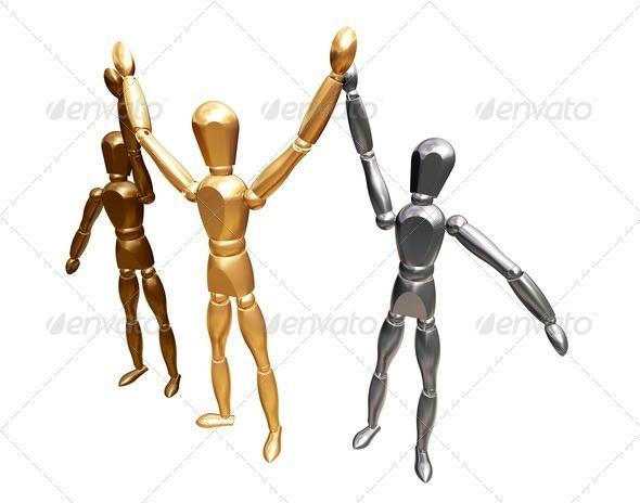 Winners - Characters 3D Renders